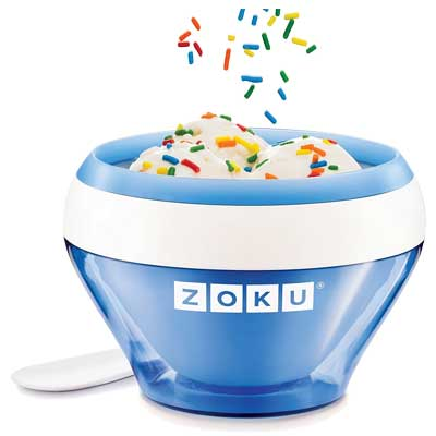 Zoku Blue Ice Cream Maker