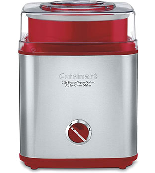 Cuisinart ICE-30R Pure Indulgence Ice Cream Maker