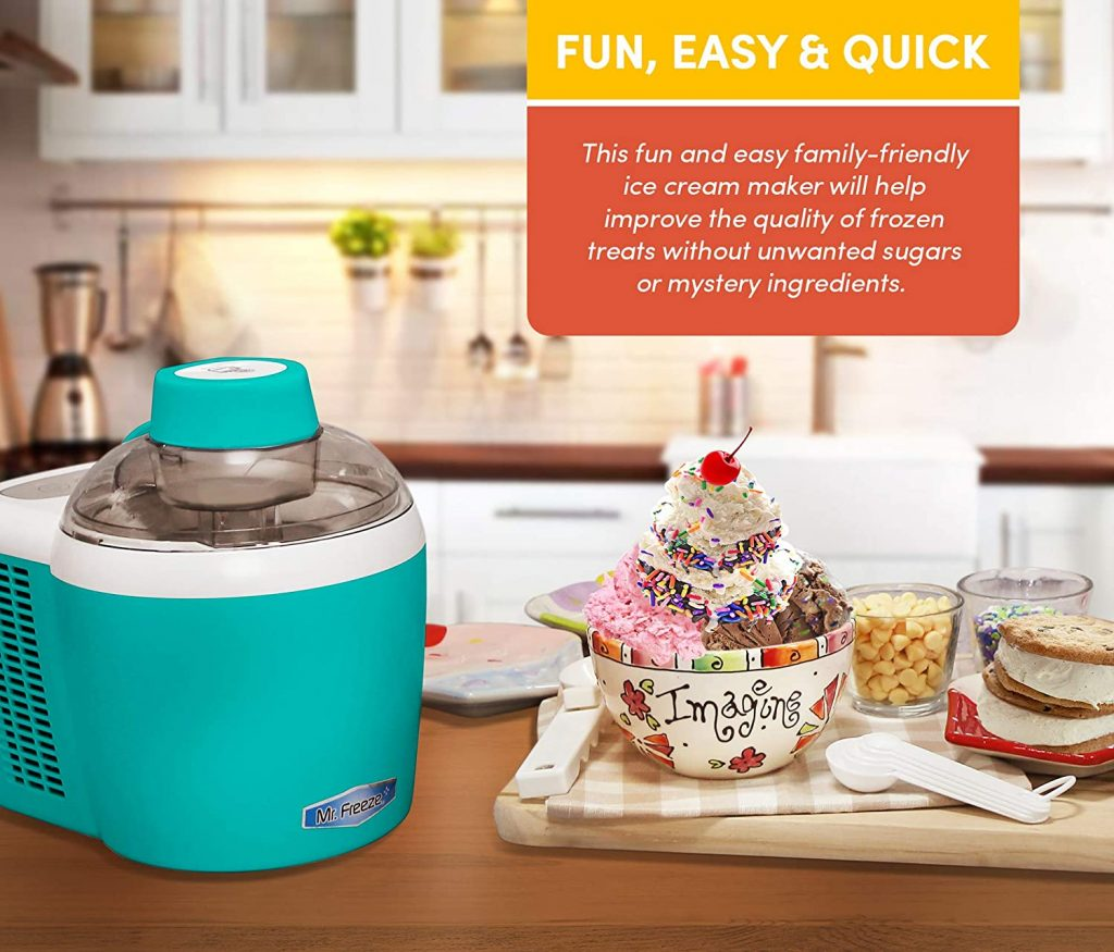 Maxi-Matic Freezing Self-Refrigerating Ice Cream Maker