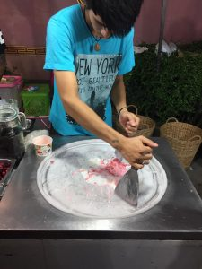 rolled ice cream thailand