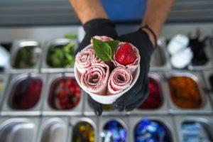 best rolled ice cream machine