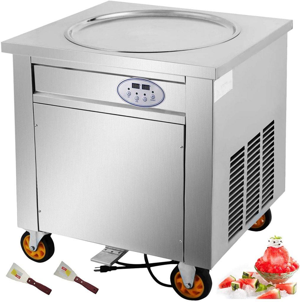 vevor comercial ice roll machine