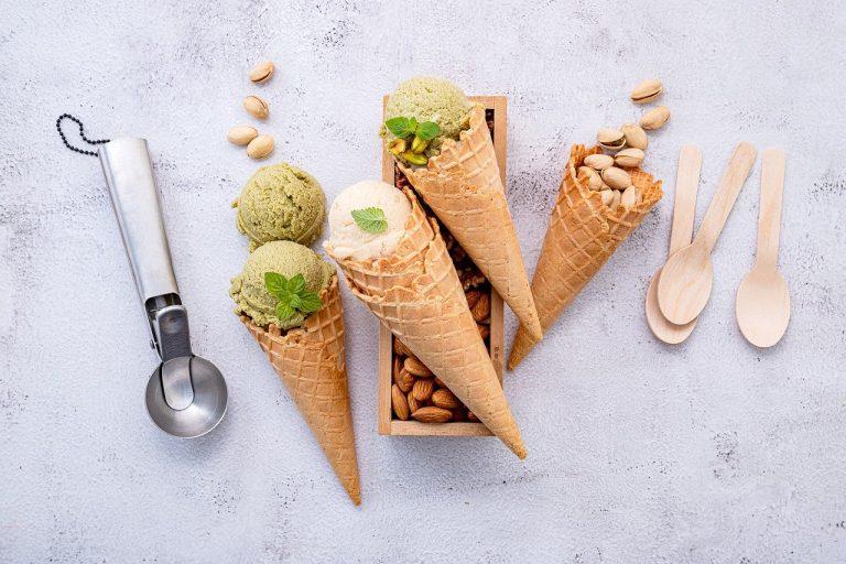 different types of ice cream